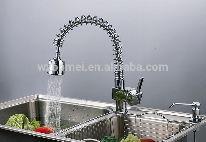 pull out spring brass sink tap, View bathroom faucet , FLG Product Details from Wenzhou Bomei Sanitary Ware Co., Ltd. on Alibaba.com