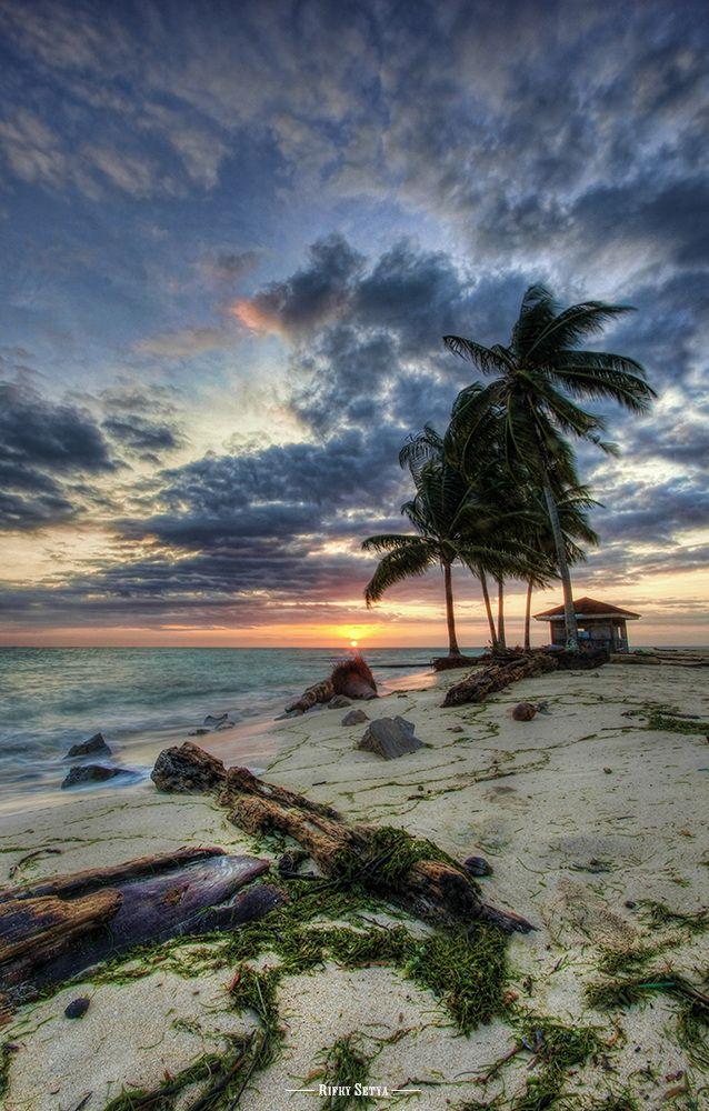 ~~Rise Up | sunrise seascape, Indonesia | by Rifky Setya~~