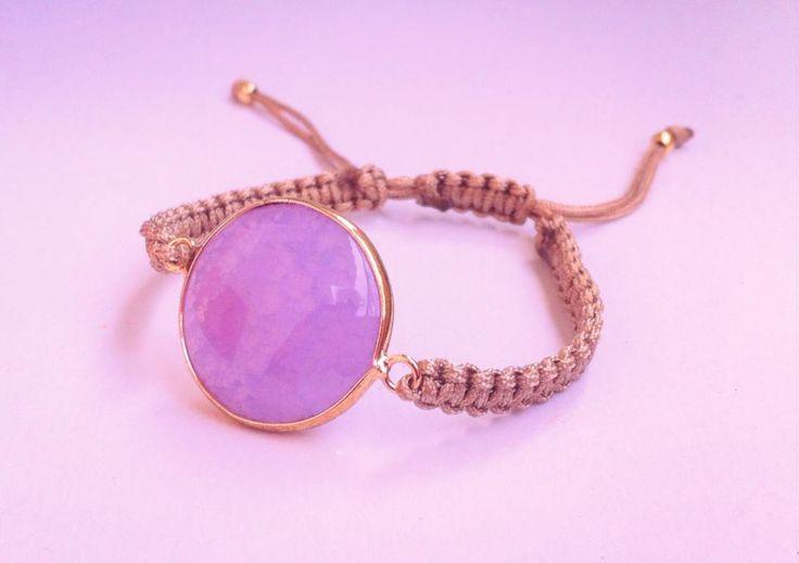 μακραμέ βραχιόλι - Macrame handmade bracelets