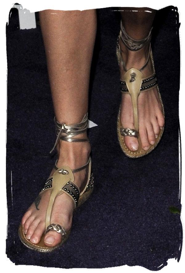 christian louboutin flat sandals