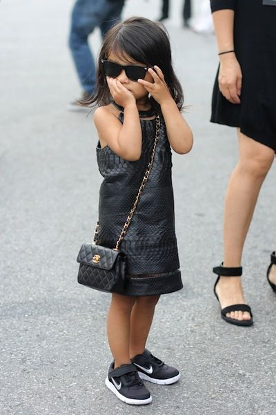Alexander Wang's 3-year-old niece AliaLittle Girls, Chanel Bags, Style, Future Daughter, Kids Fashion, Minis, Baby, Alexander Wang, Alexanderwang
