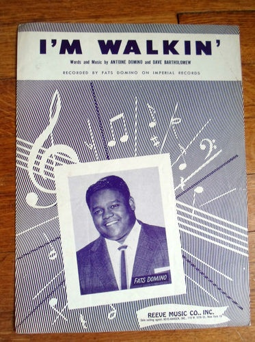 Fats Domino vintage sheet music