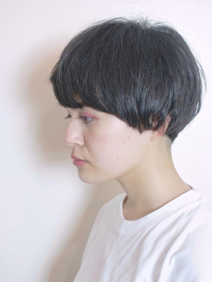 side  Black mash hair    model marina❤︎