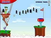 http://grajnik.pl/gry/kaczor-donald/ - to moja ulubiona gierka z Kaczorem Donaldem w roli głównej oczywiście. Jeżeli go lubicie oraz granie w golfa to zapraszam.