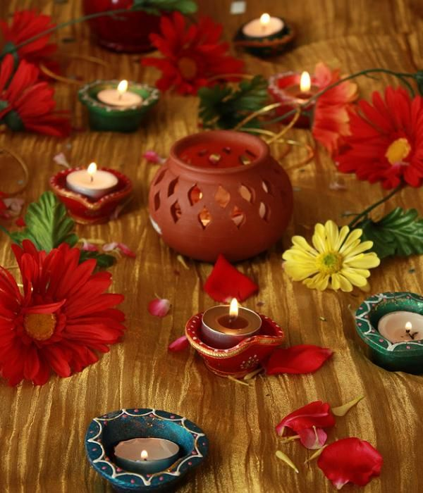 Home Decor Ideas For Navratri: Diwali Decorations Ideas 2016 For Office And Home