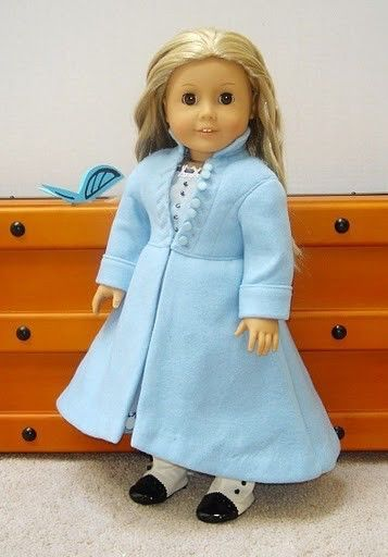 Doll Clothes Alices Coat From Alice in Wonderland fits American Girl Doll or other 18 inch Dolls by enchanteddesigner on Etsy https://www.etsy.com/listing/47118639/doll-clothes-alices-coat-from-alice-in