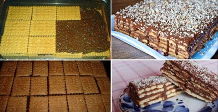 Торт- печенье