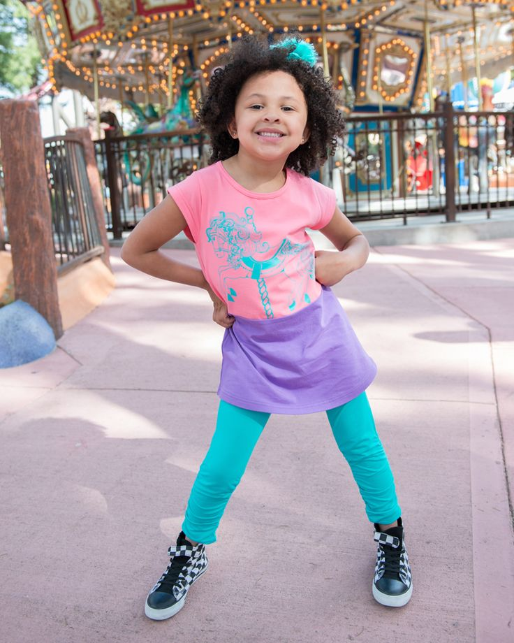 Long Embrace Leggings | Comfy ruched leggings for girls. | www.peekaboobeans.com