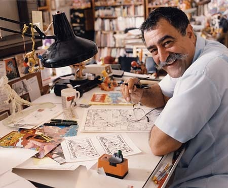 Sergio Aragones' marginal drawings in Mad magazine always captivated me.