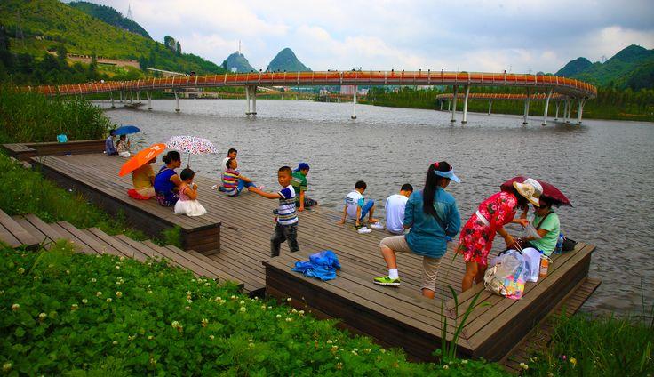 Minghu Wetland Park,Courtesy of Turenscape