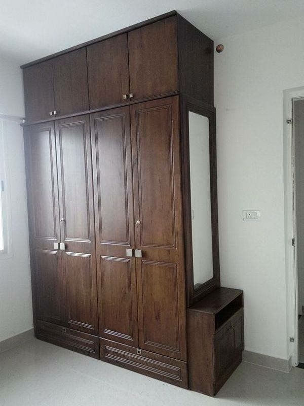 Best 25 wardrobe interior design ideas on pinterest for Bedroom cupboard designs small space