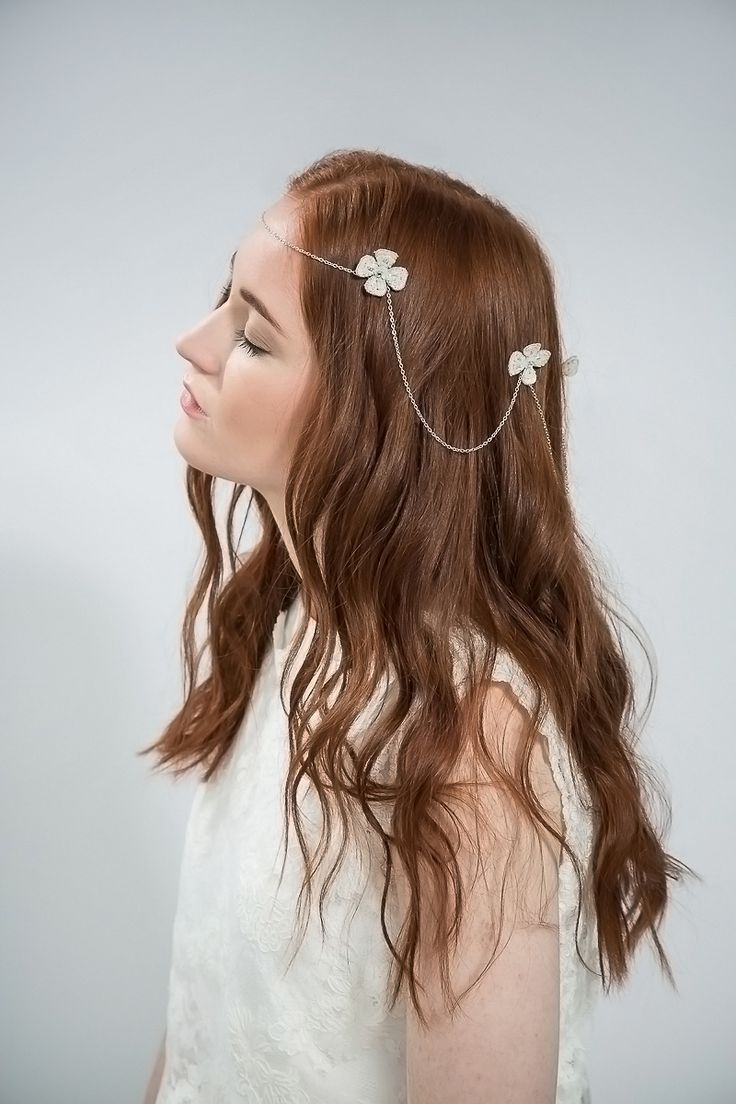 Daisy chain halo by Emmy London - Elegant and Ethereal Wedding Hair Accessories | Love My Dress® UK Wedding Blog