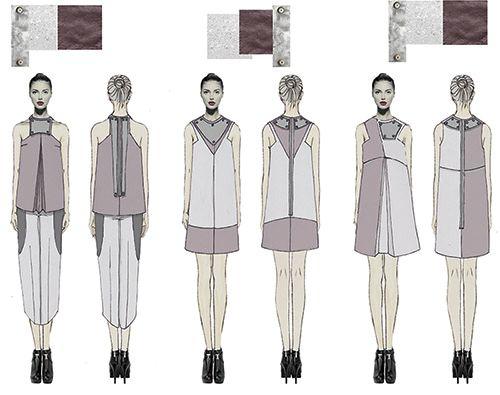 raquel-galiano-figurines-colección-minimal-ilustración-collage-moda-fashion-madrid