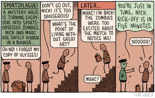 Tom Gauld (from YOU'RE ALL JUST JEALOUS OF MY JETPACK)