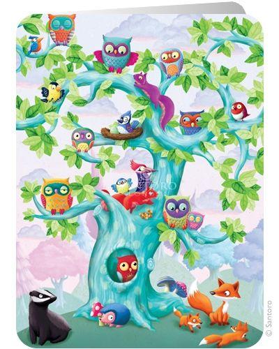 Wildwood - Santoro's Eclectic Cards