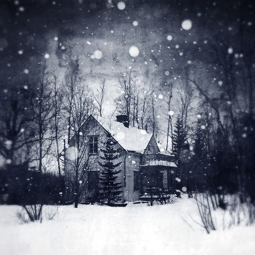 An abandoned house in Kemi, Finland.