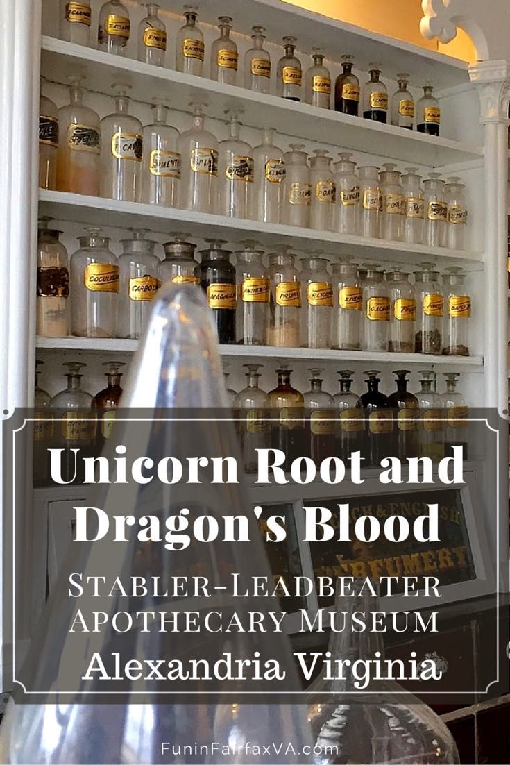 Visit Stabler-Leadbetter Apothecary Museum in Old Town Alexandria VA