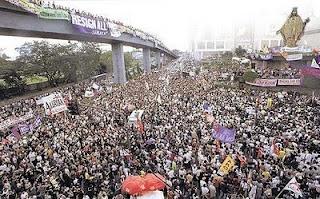 1986 - Philippine's non-violent People Power Revolution