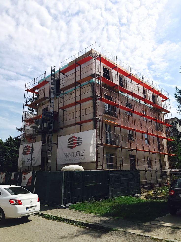 Nadstavba postavená! :) #firma #beles #nadstavba #building