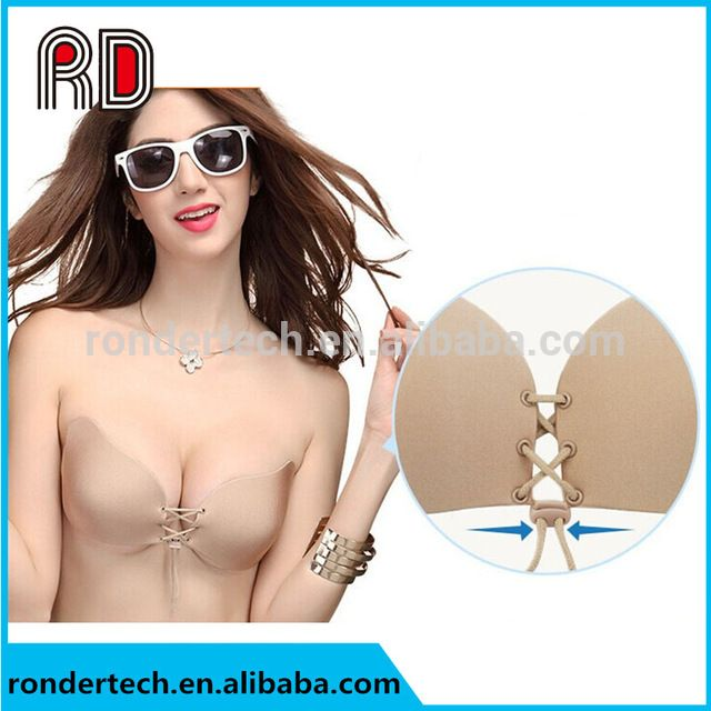 Source Cup A-D Women Nubra Sujetador Invisible Sticky Bra Soutien Gorge Strapless Brasier Silicone Bandeau Bra Push Up on m.alibaba.com