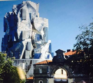 CGI of Frank Gehry's Arles project