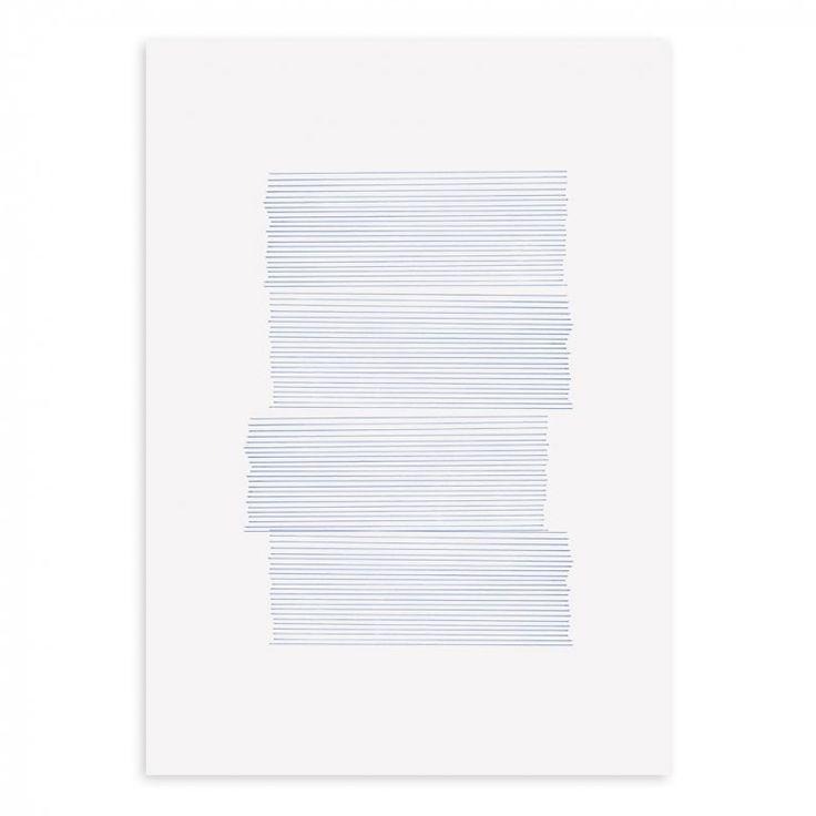 Into The Blue 01 Affisch | Paper Collective | Länna Möbler | Handla online