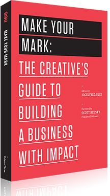 I can't wait to get my hands on 99u's latest book: Make Your Mark, a business book for makers, not managers. (I just pre-ordered a copy!) If you're not familiar with 99u books, I recommend you chec...