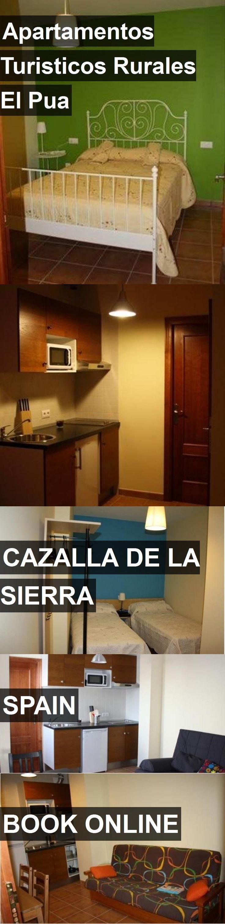 Hotel Apartamentos Turisticos Rurales El Pua in Cazalla de la Sierra, Spain. For more information, photos, reviews and best prices please follow the link. #Spain #CazalladelaSierra #ApartamentosTuristicosRuralesElPua #hotel #travel #vacation
