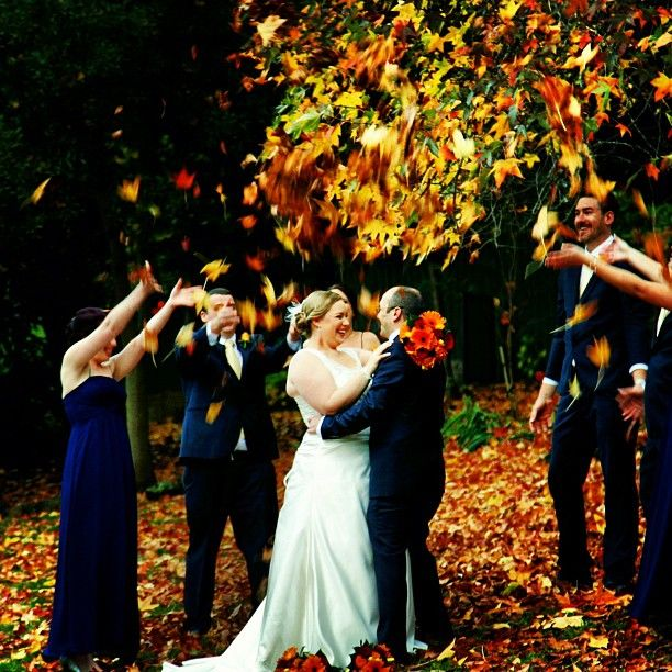 Amazing autumn colours! :: Photo by Nathania Springs Receptions :: Dandenong Ranges, Victoria, Australia
