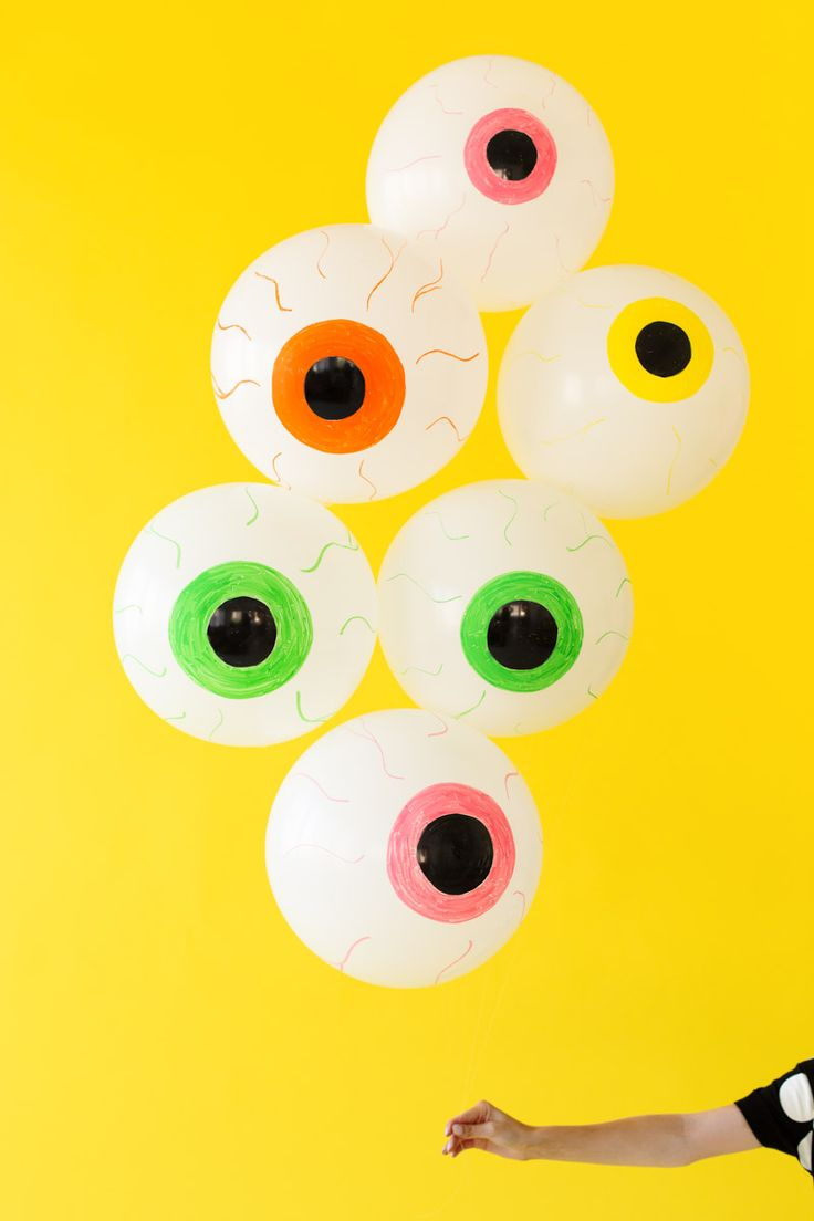DIY Eyeball Balloons