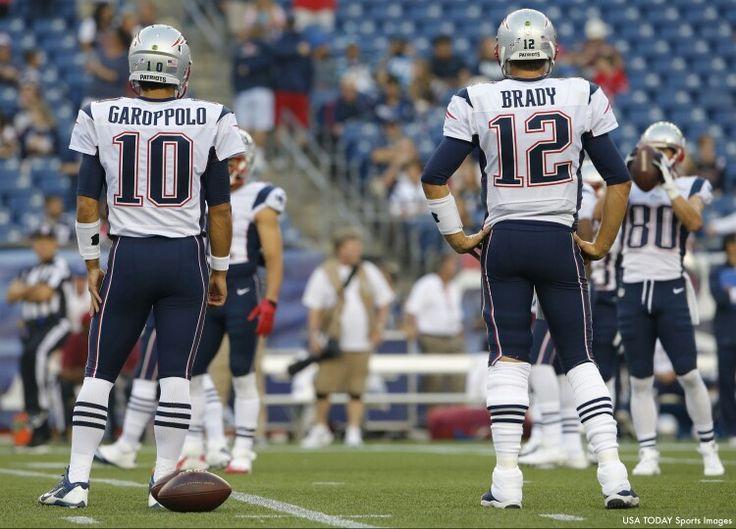 Garoppolo & Brady New england patriots, Sports, Nfl