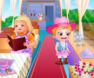 Малышка Хейзел В Доме Бабушки, http://www.babyhazelworld.com/game/malyshka-hjejzjel-domje-babushki. У малышки Хейзел каникулы и она решила воспользоваться этим и поехать на несколько дней в гости к бабушке. Малышке понравиться исследовать новые места