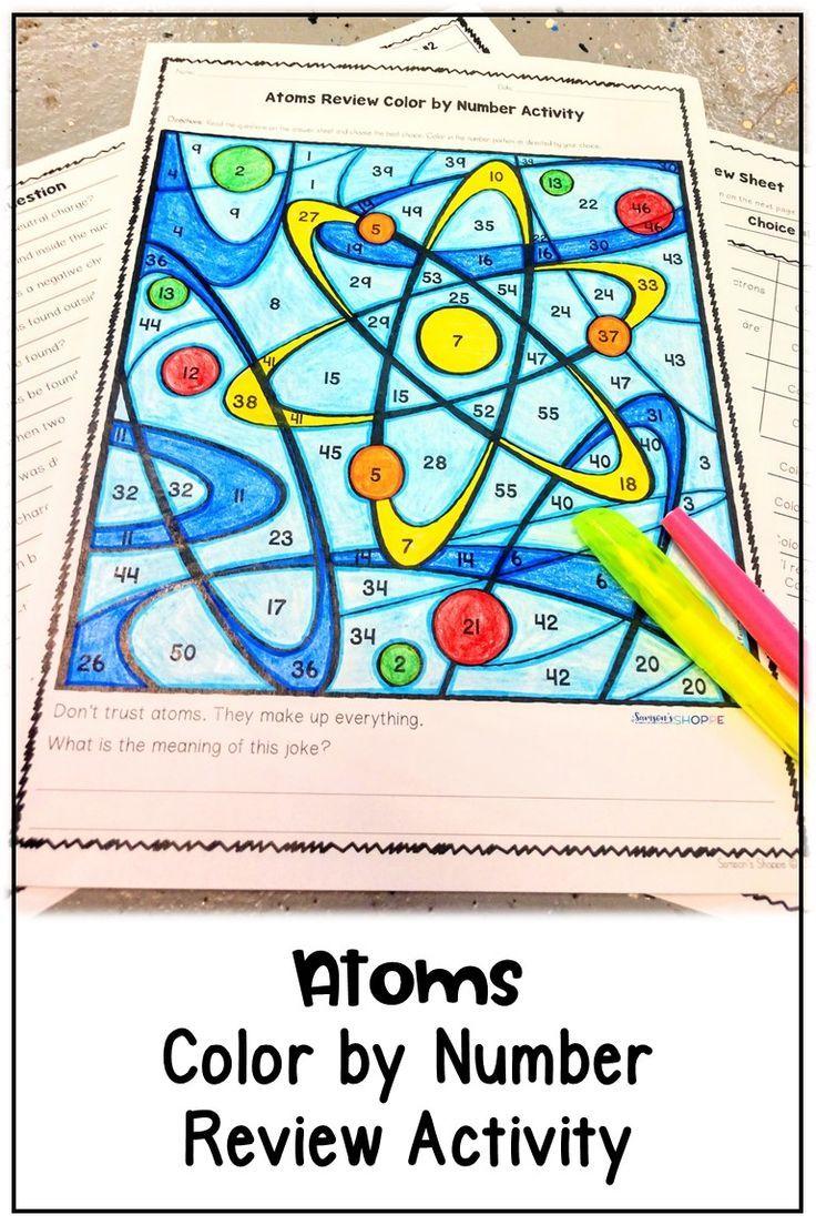 medium resolution of Atoms Proton Neutron Electron Review Activity   Proton neutron electron