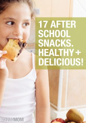 Some good snack ideas in here. Hopefully they'll be popular with the kids I babysit who are junk food obsessed. I'm on a mission to help them eat healthier ;)