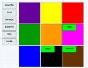 Spanish - label the items, colors, etc