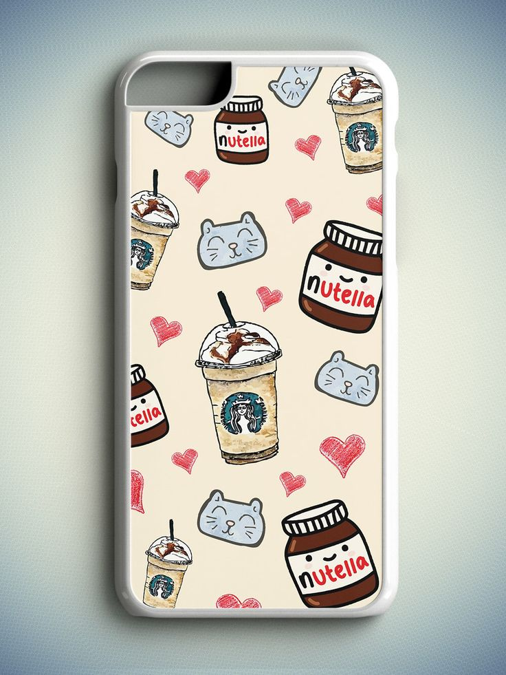 Tumblr Girl iPhone 6S Case, Tumblr iPhone 6 Case, Nutella iPhone s Case, Nutella iPhone 6 Plus Case, Starbucks iPhone 5C Case, Daughter Gift by zoobizu on Etsy (null)