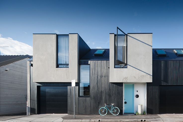 The architects Nixon Tulloch Fortey created this inner city contemporary townhouse full of innovative design features in Richmond, Victoria, Australia.
