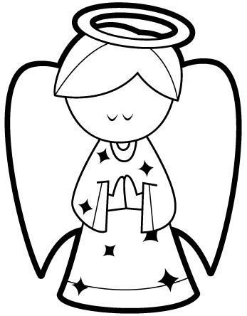 angel coloring pages for kids - Buscar con Google