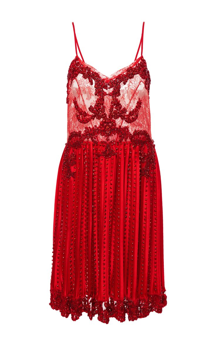 Embroidered Lace Bodice Dress by GIVENCHY for Preorder on Moda Operandi