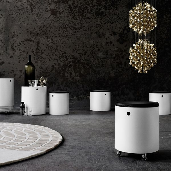 Tavolino Party Set - design Panton Verner - Verpan