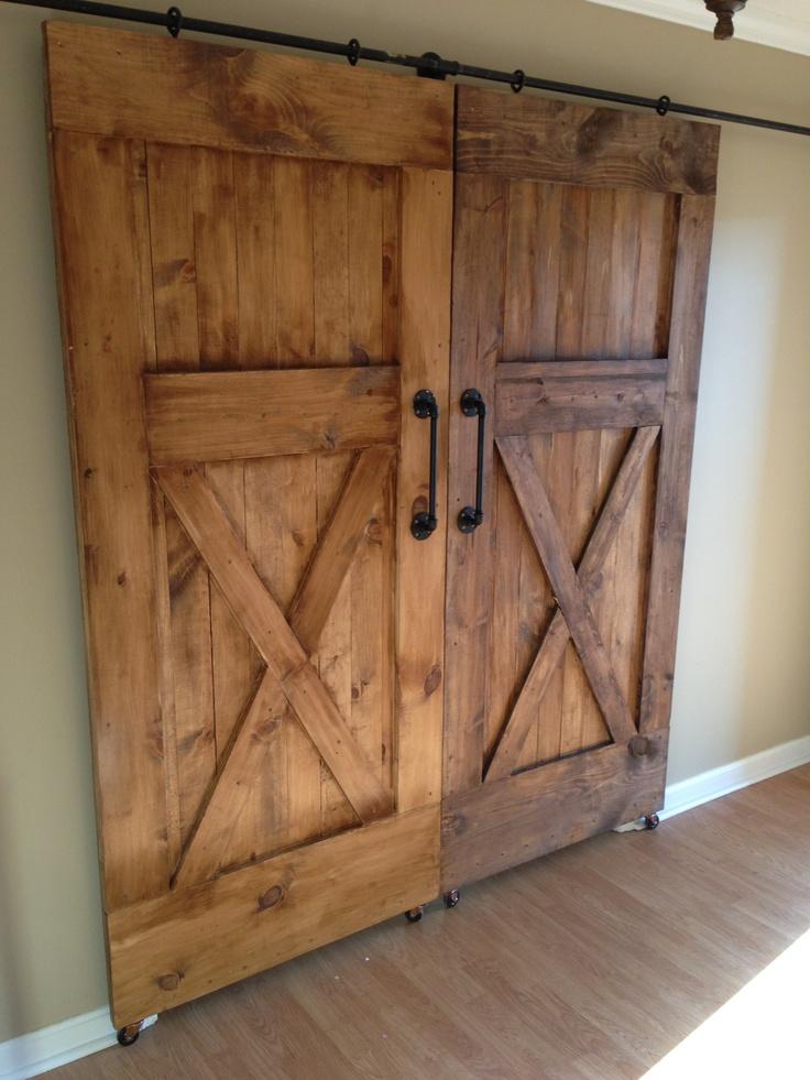 sliding barn doors wood whisperer pinterest sliding barn doors barns and barn doors. Black Bedroom Furniture Sets. Home Design Ideas
