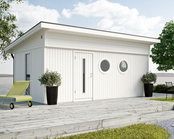 JABO attefallshus Flex Funkis 18,4 Komplementhus (Attefallshus) i modern och trevlig funkisstil. I grundsatsen ingår 16 stycken väggmoduler, som kan bytas ut mot valfritt antal fönster- och dörrmoduler och placeras var du vill. Välj även till isolersats, taksats eller plåtsats, så får du allt komplett levererat på samma gång.