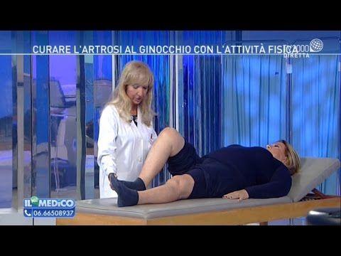 Curare l'artrosi al ginocchio con l'attività fisica - YouTube