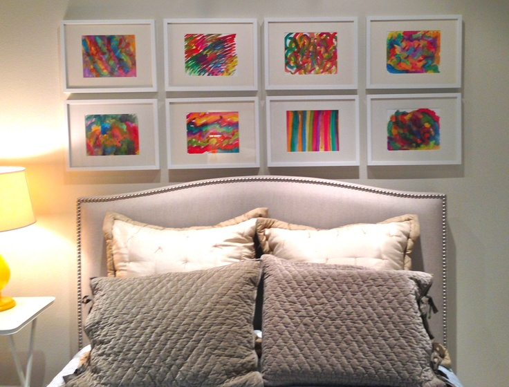 Mrs Polly Rogers Blogs About How To Paint Your Own Watercolor Abstract Art For Walls