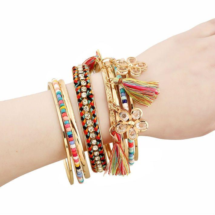 Silver Bracelets For Women Vintage Jewelry Boho Jewelry Cute Bracelets Charm Bracelet Emerald Ruby Bracelet Bangles Bracelets