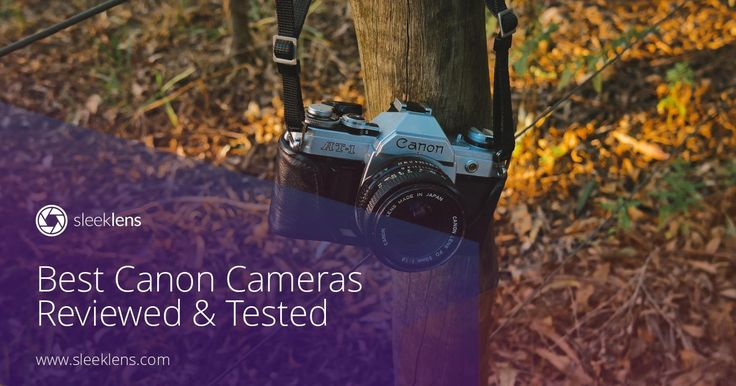 Looking for your first Canon camera but don't know where to start? Take a look at these reviews of cameras sorted by skill level required to use them.