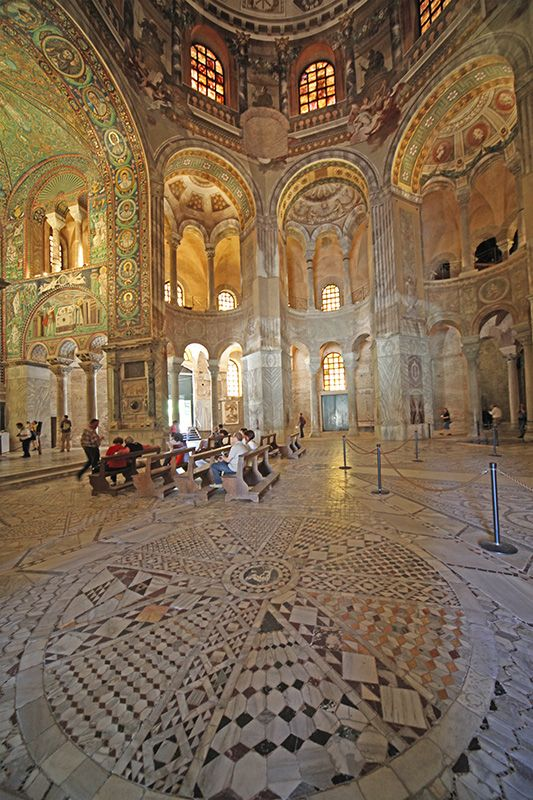 San Vitale - Ravenna, Italy. Wow! If I ever make it to Italy, I would love to see this place in person...