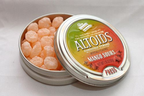 Destroying your tongue on these: