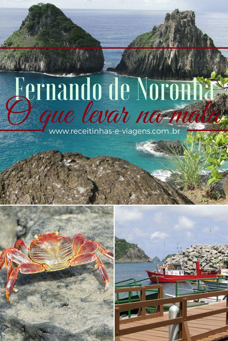 Fernando de Noronha - Dicas do que vestir e levar na mala