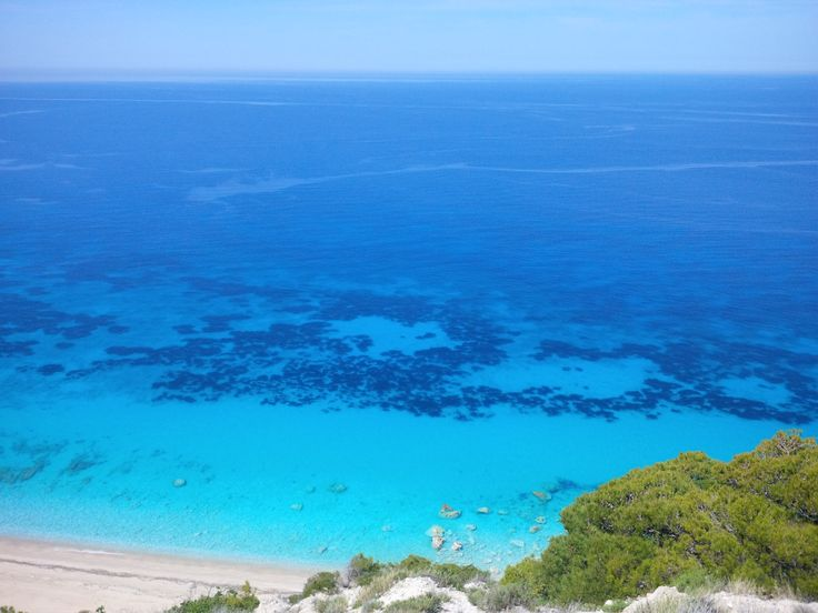 Pefkoulia beach, Lefkada, Greece. A short drive from Kathisma Bay Villas at Kathisma beach, Lefkada